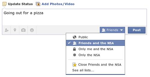 Facebook NSA meme