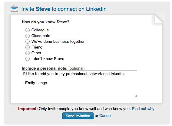 Connect LinkedIn