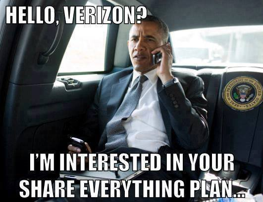 Obama NSA Meme