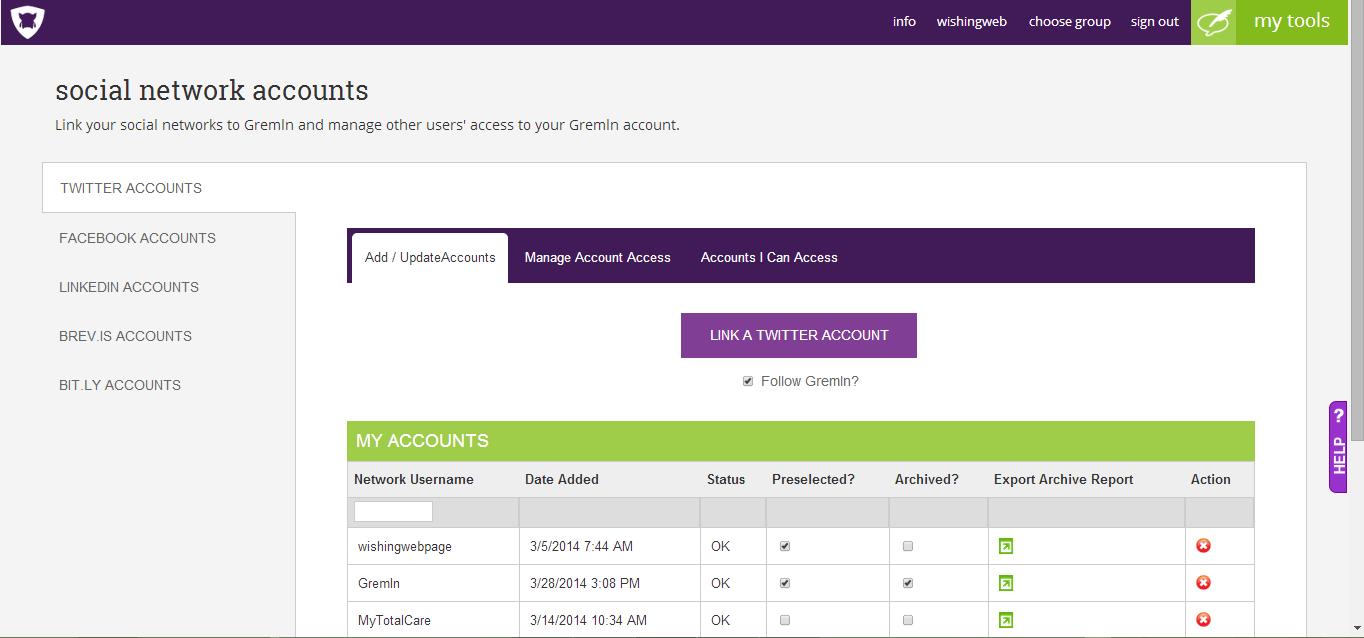 Secure Social Media Management Tools | Gremln
